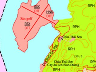 Bán đất sân gold Định An Dầu Tiếng