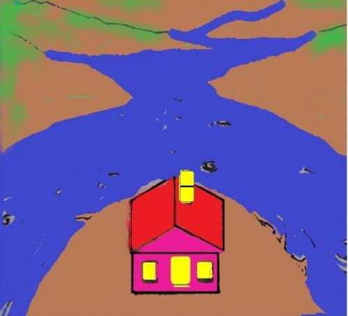nhà view sông