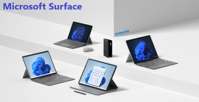 Các Mẫu Microsoft Surface Mới Ra Mắt